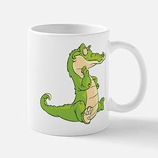Thinking Crocodile Mug