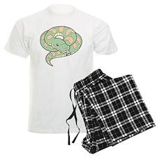 Green and Tan Snake Pajamas