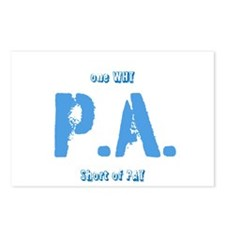 P.A.why Postcards (Package of 8)