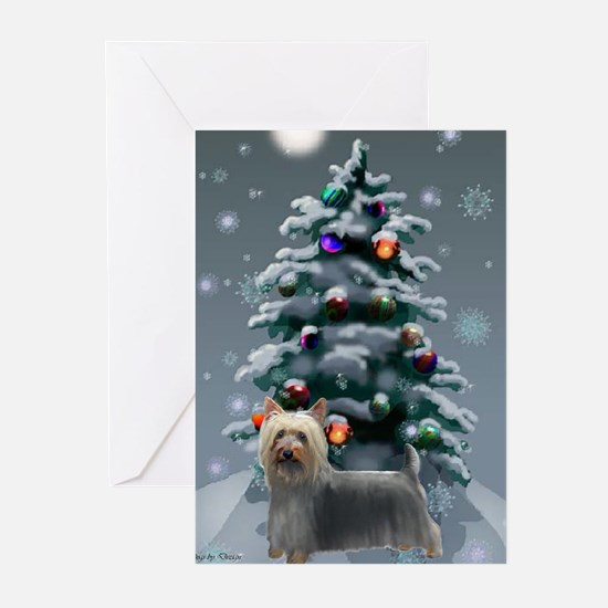Silky Terrier Christmas Greeting Cards (Pk of 20)