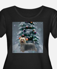 Silky Terrier Christmas T