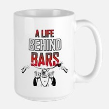 Motorcycle - A Life Behind Bars Large Mug