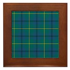 Tartan - Johnstone Framed Tile
