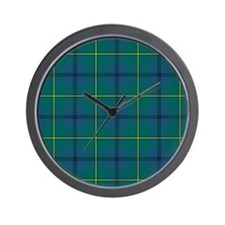 Tartan - Johnstone Wall Clock