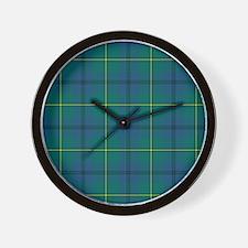 Tartan - Johnstone Wall Clock