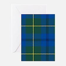 Tartan - Johnstone Greeting Cards (Pk of 10)