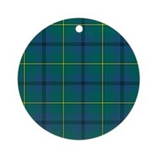 Tartan - Johnstone Ornament (Round)