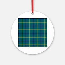 Tartan - Johnstone Ornament (Round)