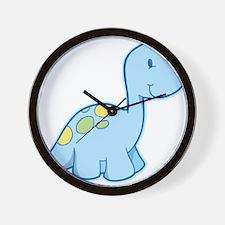 Cute Baby Dinosaur Wall Clock