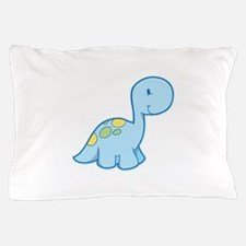 Cute Baby Dinosaur Pillow Case