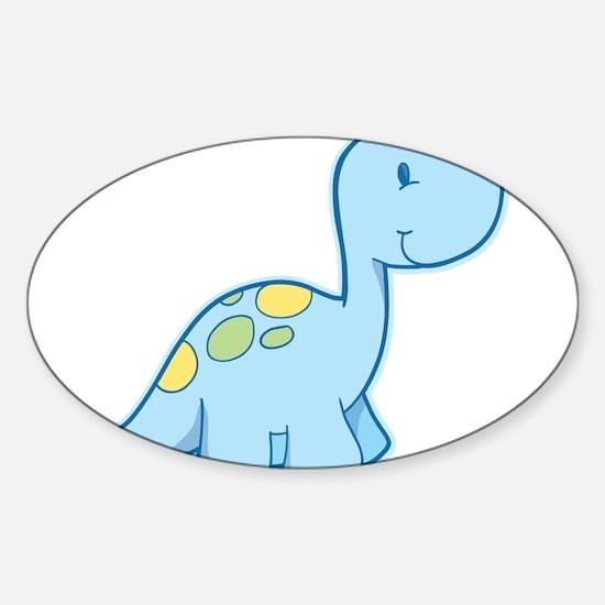 Cute Baby Dinosaur Decal