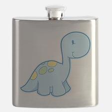 Cute Baby Dinosaur Flask
