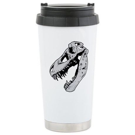 Dinosaur Skeleton Travel Mug