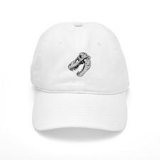 Dinosaur Skeleton Baseball Baseball Cap