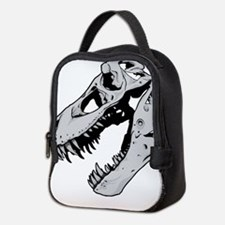 Dinosaur Skeleton Neoprene Lunch Bag