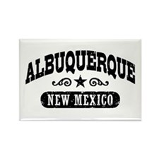 Albuquerque New Mexico Rectangle Magnet