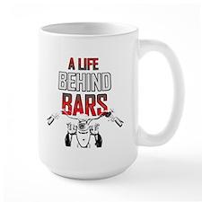 Motorcycle - A Life Behind Bars Mug