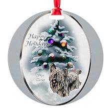 Skye Terrier Christmas Ornament