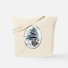 Skye Terrier Christmas Tote Bag