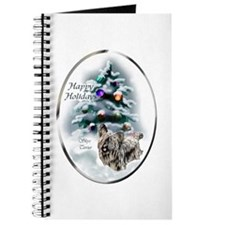 Skye Terrier Christmas Journal