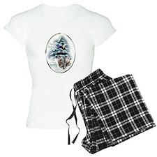 Skye Terrier Christmas Pajamas