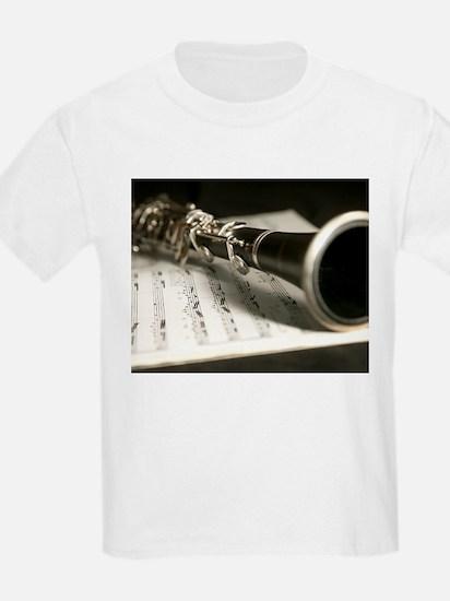 clarinet and Music Case Mens Full Shirt T-Shirt