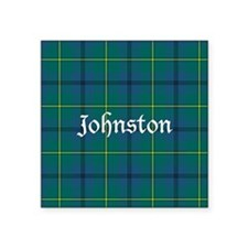 "Tartan - Johnston Square Sticker 3"" x 3"""