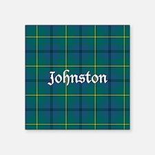 "Tartan - Johnston Square Sticker 3"" x 3"""