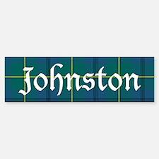 Tartan - Johnston Car Car Sticker