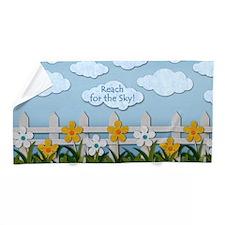 Reach for the Sky Picket Fence Beach Towel