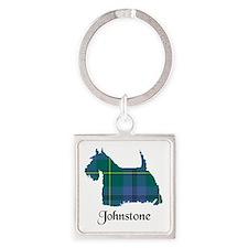 Terrier - Johnstone Square Keychain