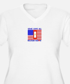 Some Gave All Widow Plus Size T-Shirt