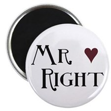 "Mr. right 2.25"" Magnet (100 pack)"