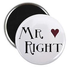 "Mr. right 2.25"" Magnet (10 pack)"