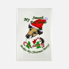 Smooth Fox Terrier Rectangle Magnet (10 pack)