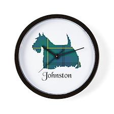 Terrier - Johnston Wall Clock