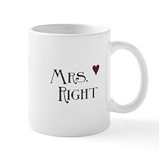 Mrs. right Mug