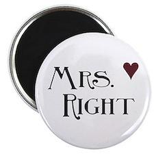 Mrs. right Magnet