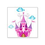 Pink Fairytale Castle Sticker