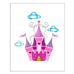 Pink Fairytale Castle Posters