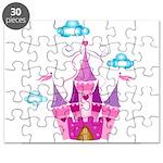 Pink Fairytale Castle Puzzle