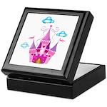 Pink Fairytale Castle Keepsake Box