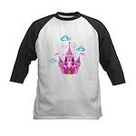 Pink Fairytale Castle Baseball Jersey