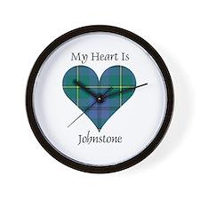 Heart - Johnstone Wall Clock