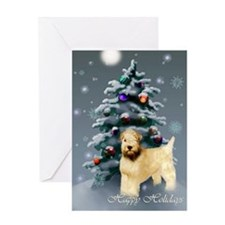 Soft Coated Wheaten Terrier Greeting Card