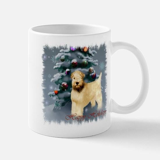 Wheaten Terrier Christmas Mug
