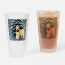 Soft Coated Wheaten Terrier Drinking Glass