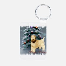 Soft Coated Wheaten Terrier Keychains