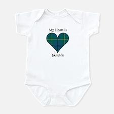 Heart - Johnston Infant Bodysuit