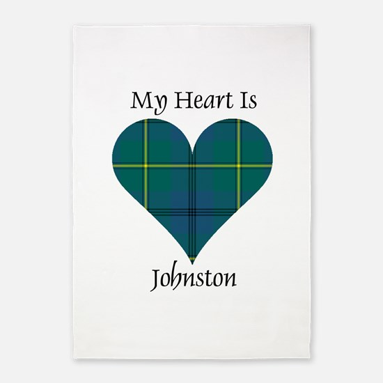 Heart - Johnston 5'x7'Area Rug